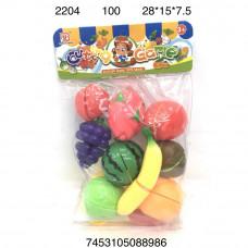 2204 Набор фруктов Нарезка 100 шт в кор.