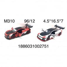 M310 Модельки машин (металл) 12 шт. в блоке, 96 шт. в кор.