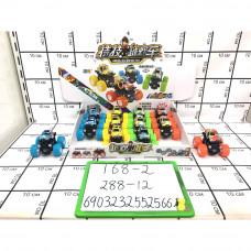 Машинки внедорожники 12 шт. в блоке, 288 шт. в кор. 168-2