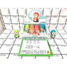 Заводная игрушка Обезьянка 12 шт. в блоке, 288 шт. в кор. 6635