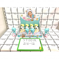 Заводные игрушка 12 шт в блоке, 216 шт в кор. SY001A