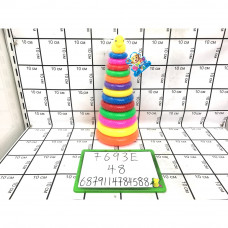 Пирамидка, 48 шт. в кор. 7693E
