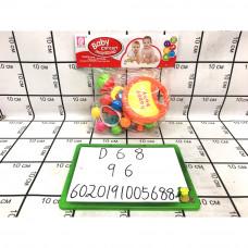 Набор Погремушек в пакете, 96 шт. в кор. D68