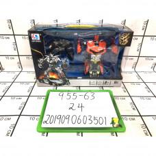 Робот Трансформер 2 шт. в наборе, 24 шт. в кор. 955-63