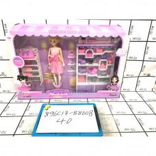 Кукла с аксессуарами, 40 шт. в кор. 896C17-8800B