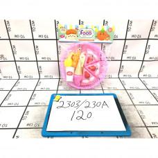 Набор посуды Фасфуд в пакете, 120 шт. в кор. 2303/230A