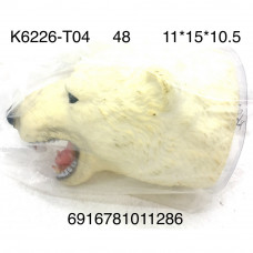 K6226-T04 Игрушка на руку Медведь, 48 шт. в кор.