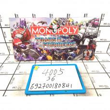Настольная игра Монополия Трансформеры 36 шт в кор. 4005