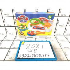 Набор для лепки Кухня-еда, 48 шт. в кор. 8081