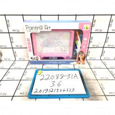 Доска для рисования 3D, 36 шт. в кор. 22088-31A