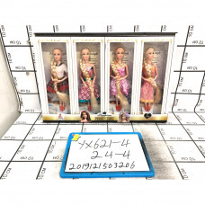 Куклы 4 шт. в блоке, 24 шт. в кор. YX621-4
