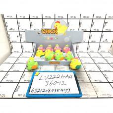 Курочка заводная 12 шт. в блоке, 360 шт. в кор. LY2226-A4