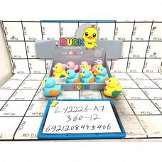 Уточки заводные 12 шт. в блоке, 360 шт. в кор. LY2226-A7