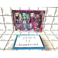 Куклы Монстр 3 шт. в наборе, 36 шт. в кор. 8894-A