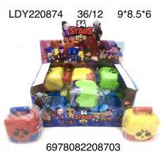 LDY220874 Игрушка Stars 12 шт. в блоке, 36 шт. в кор.