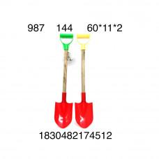 Лопата 60 см, 144 шт. в кор. 987