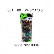 851 Машинки SpiritArriow 5 шт в наборе 80 шт в кор.