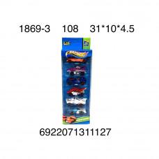 1869-3 Машинки 6 шт в наборе 108 шт в кор.