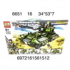 6651 Конструктор Военная техника 771 дет. 16 шт в кор.