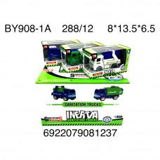 BY908-1A Грузовые машинки (инерция) 12 шт. в блоке, 288 шт. в кор.