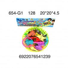 654-G1 Набор для рыбалки, 128 шт. в кор.