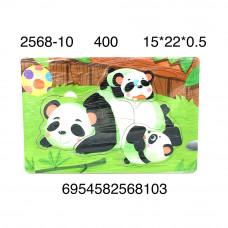 2568-10 Логика-игрушка Пазл (дерево), 400 шт. в кор.