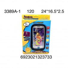3389A-1 Телефон интерактивный Пони, 120 шт. в кор.