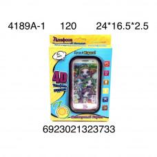 4189A-1 Телефон интерактивный Единорог Пупси, 120 шт. в кор.