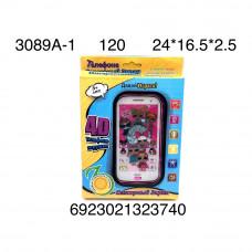 3089A-1 Телефон интерактивный Кукла в шаре, 120 шт. в кор.