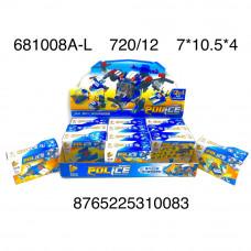 681008A-L Конструктор Полиция 12 шт. в блоке, 720 шт. в кор.
