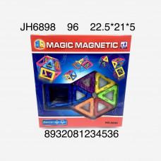 JH6898 Конструктор магнитный 14 дет., 96 шт. в кор.