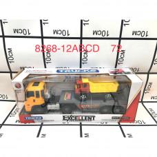 8268-12ABCD Набор машинок с автовозом 72 шт в кор.