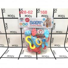 628-62 Набор погремушек для малышей 168 шт в кор.
