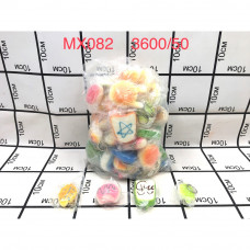 MX082 Сквиши 50 шт. в блоке, 3600 шт. в кор.