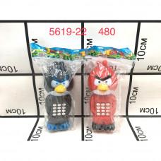 5619-22 Телефн Птички, 480 шт. в кор.