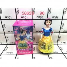 58633 Кукла Белоснежка (свет, звук, крутится на 360) 96 шт в кор.
