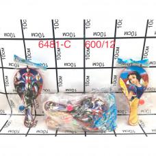 6481-C Бадминтон супер герои 12 шт в пачке, 600 шт в кор.