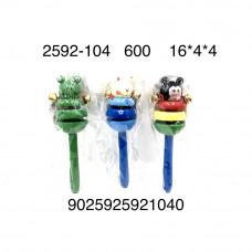 2592-104 Деревянная игрушка Погремушка, 600 шт. в кор.