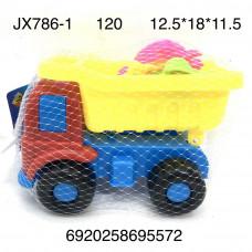 JX786-1 Песочный набор Машинка 120 шт в кор.