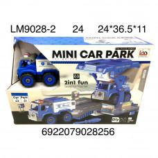 LM9028-2 Конструктор Полицейские машинки с отвёрткой, 24 шт. в кор.