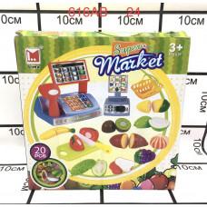 616AB Набор продуктов с ножом и кассой 20 дет 24 шт в кор.