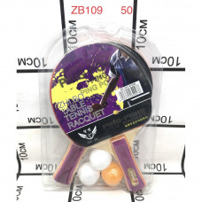 ZB109 Набор для настольного тенниса, 50 шт. в кор.