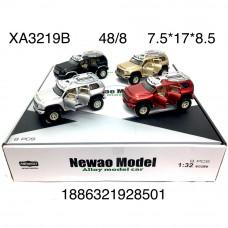 XA3219B Модельки (металл) 8 шт. в блоке, 48 шт. в кор.
