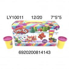 LY10011 Масса для лепки 20 шт. в блоке, 12 шт. в кор.