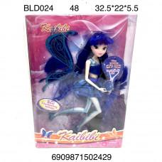 BLD024 Кукла Фея с аксессуарами, 48 шт. в кор.