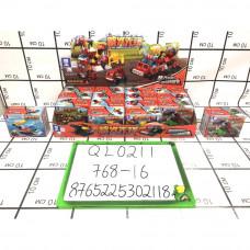 Конструктор Город 16 шт. в блоке, 768 шт. в кор. QL0211