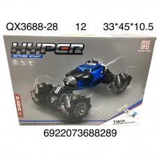QX3688-28 Машина вездеход Р/У 12 шт в кор.