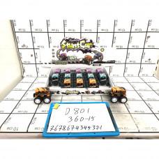 Машинки багги 15 шт. в блоке, 360 шт. в кор. D801