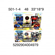 Робот-Трансформер Тробот 2 героя 48 шт в кор. 501