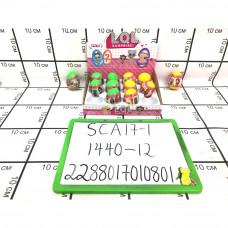 Кукла в шаре в яйце 12 шт. в блоке, 1440 шт в кор. SCA17-1
